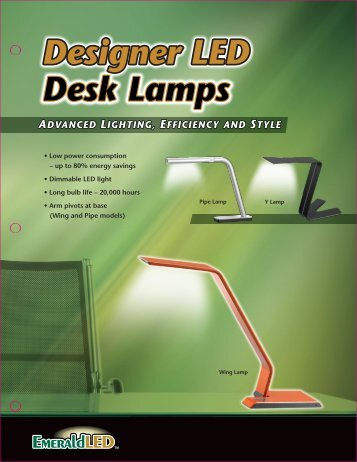 Designer LED Desk Lamps - Apclife.com