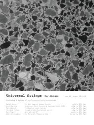 exhibition newspaper (pdf) - Common Room