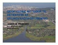 Jesper B. Pedersen - ATV Jord og Grundvand
