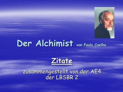Der Alchimist Zitate Der Alchimist 2019 12 26