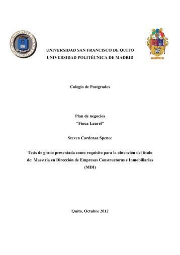 capitu - Repositorio Digital USFQ - Universidad San Francisco de ...
