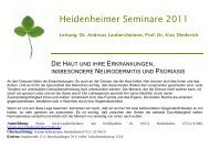 Dr. Andreas Laubersheimer, Prof. Dr. Klas Diederich