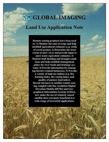 Land Use Application Note - Capita