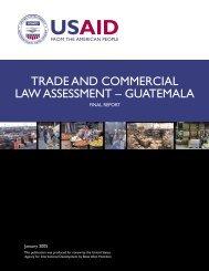 Guatemala - Economic Growth - USAid