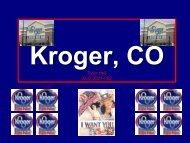 Kroger, CO
