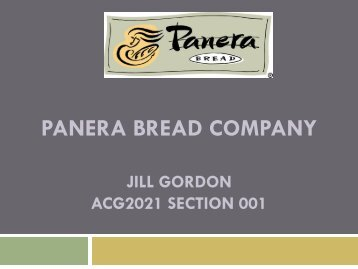 panera bread company 2012 annual report Report writing service  reduce financial risk associated with the company (panera bread  panera bread company should structure its operations such that it.