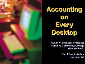 Accounting On Every Desktop - Emory Goizueta Business School ...