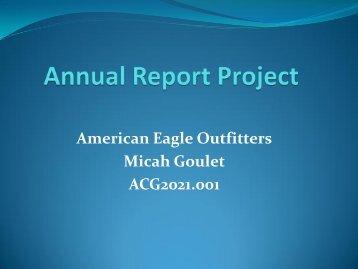 GMW-American Eagle