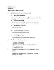 IMK Chapter 6 CAEQBPro RESOURCEFUL QUICKBOOKS 1 ...