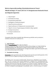 Referat af generalforsamling i - Designmuseum Danmark