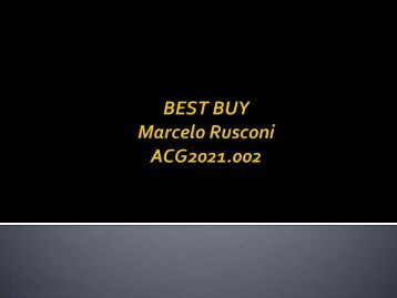 BEST BUY ANNUAL REPORT