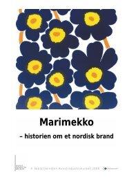 Marimekko ? historien om et nordisk brand - Designmuseum Danmark