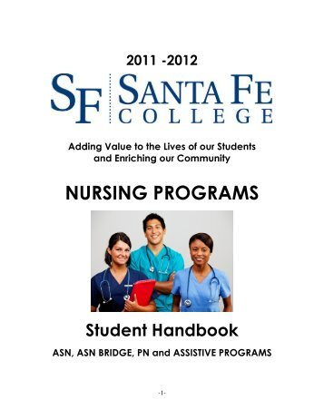 NURSING PROGRAMS - Santa Fe College