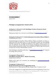 NYHEDSBREV - Designmuseum Danmark