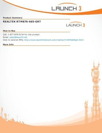 PDF Version - Launch 3 Telecom