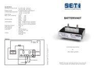 BATTERIVAGT - Skandinavisk Energi Teknik