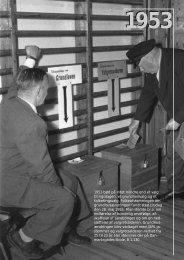 1953 bød på intet mindre end et valg til rigsdagen, et grundlovsvalg ...