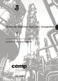Roterende elektriske maskiner - Cemp-international.com