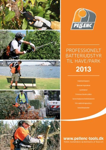 Download katalog som PDF - Pellenc
