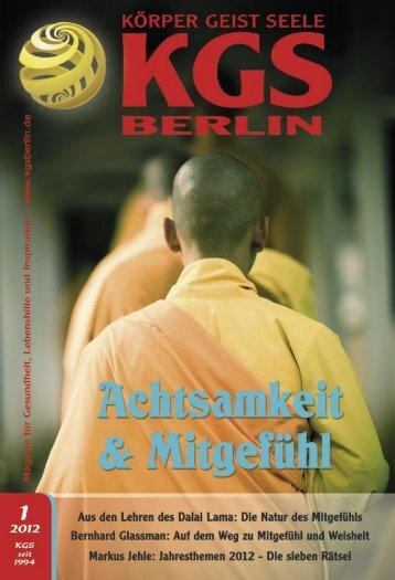 Jahresthemen 2012 - Veranstaltungskalender für Körper Geist und ...