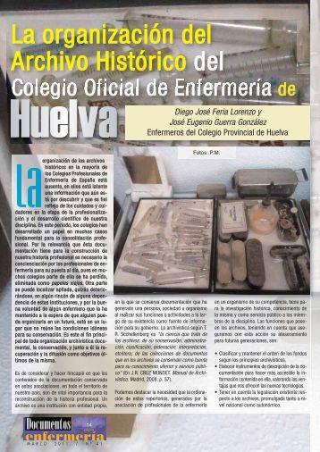 La organización del Archivo Histórico del - Universidad de Huelva