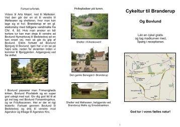 Cykeltur folder - Branderup