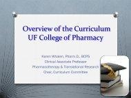 O - College of Pharmacy