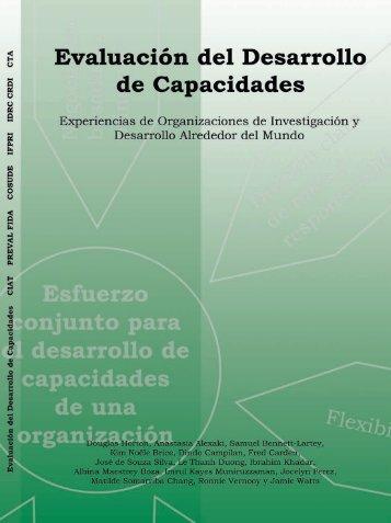 Evaluación del Desarrollo de Capacidades Organizacionales - Preval