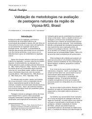 Validação de metodologias na avaliação de pastagens naturais da ...