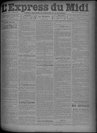 21 octobre 1892 - Bibliothèque de Toulouse