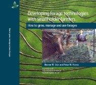 Planting from vegetative material - cgiar