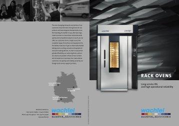 RACK OVENS - Materiel de boulangerie