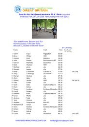 10K July race 2008.pdf - Sri Chinmoy Athletic Club UK