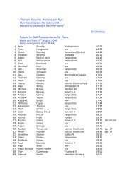5K Results 3rd August '09.pdf - Sri Chinmoy Athletic Club UK