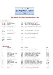Relay 21/6/10.xlsx - Sri Chinmoy Athletic Club UK