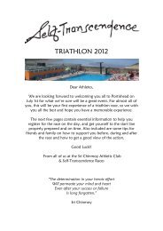 TRIATHLON 2012 - Sri Chinmoy Athletic Club UK