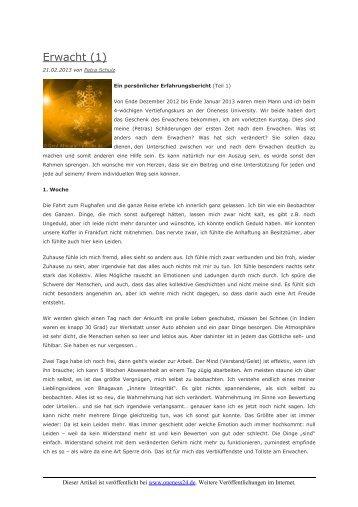 Erwacht (1) - Oneness 24