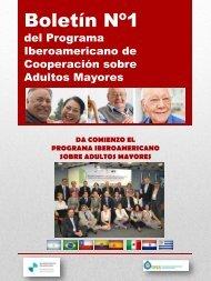 Boletín No. 1 - Organización Iberoamericana de Seguridad Social