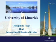 University of Limerick - Open DC