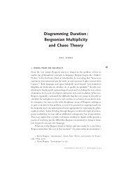 Diagramming Duration - Centre de recherche sur l'intermédialité