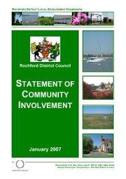 Statement of Community Involvement - Amazon Web Services