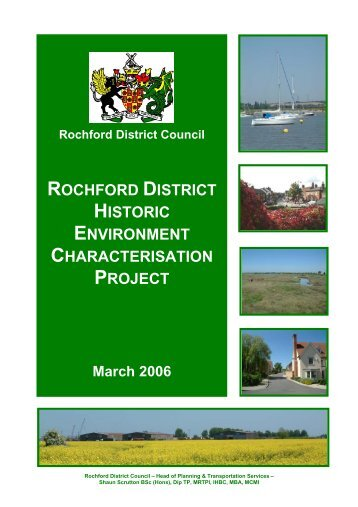 rochford district historic environment characterisation project