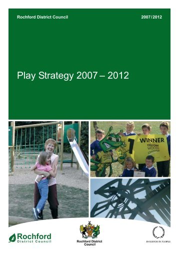 Play Strategy 2007 ? 2012 - Fair Play For Children