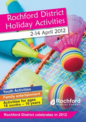 Rochford District Holiday Activities - April 2012 - Amazon Web ...