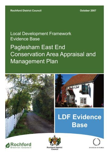 Paglesham East End Conservation Area Appraisal and ...