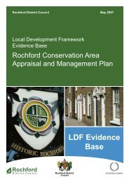 Rochford Conservation Area Appraisal and Management Plan
