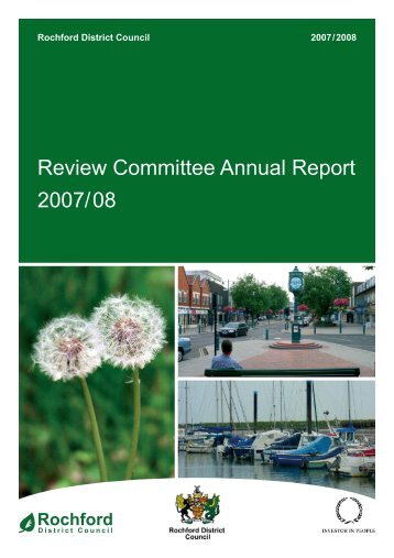 Review Committee Annual Report - Amazon Web Services