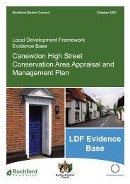 Canewdon High Street Appraisal - Amazon Web Services