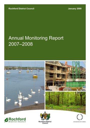 Annual Monitoring Report 2007-2008 - Amazon Web Services
