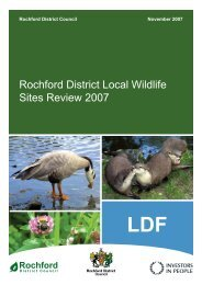 Rochford District Local Wildlife Sites Review 2007 - Amazon Web ...